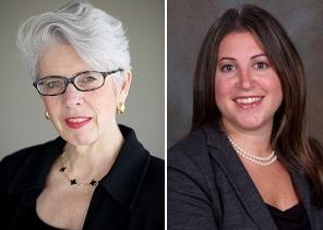 Main Line family law attorneys Kate Vetrano and Sarinia Feinman