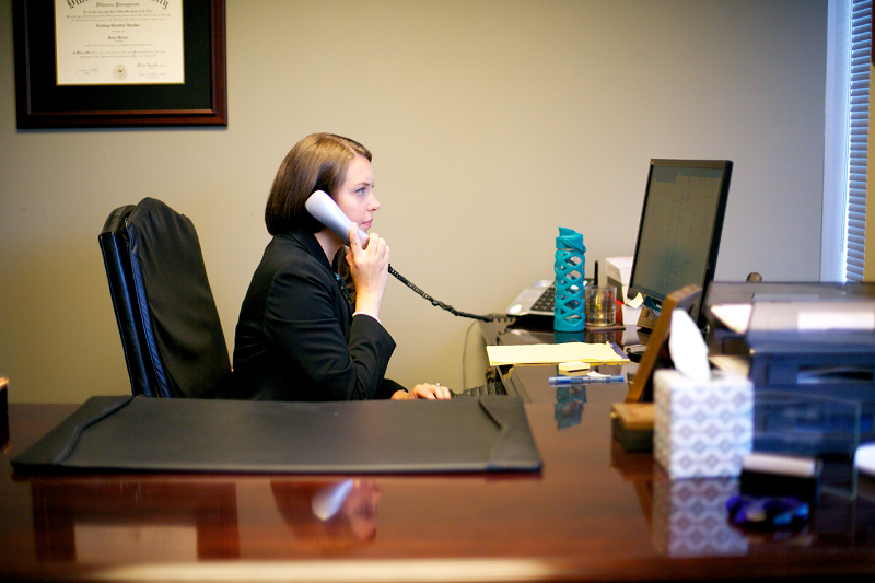 Family Lawyer Lindsay H Childs at work