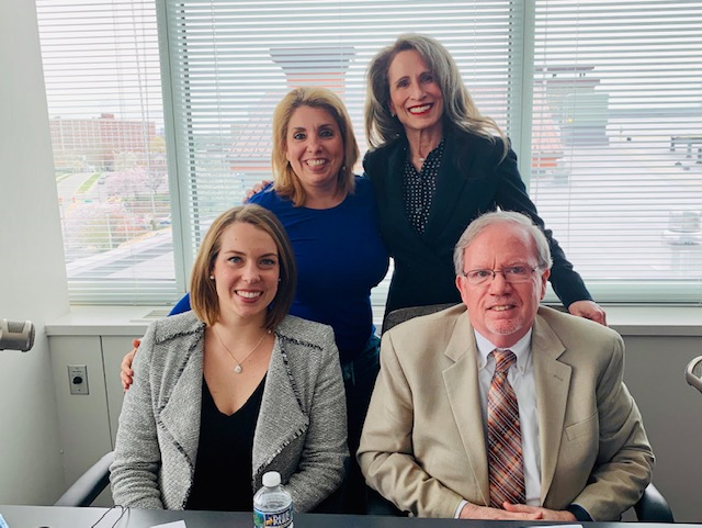 family attorney lindsay h childs with dr sue in 2019