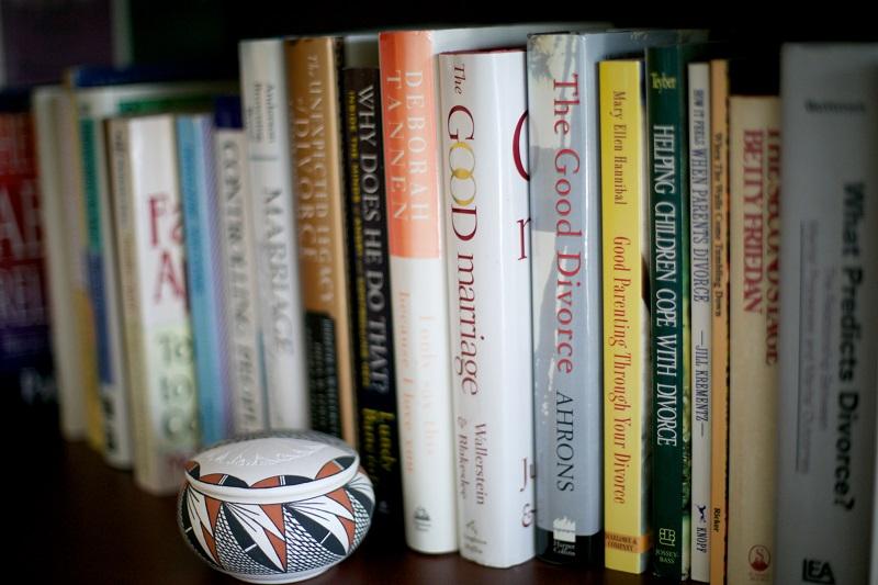 Divorce and Family Law Books on Shelf - Lydia S. Terrill Honors and Awards - Vetrano | Vetrano & Feinman LLC